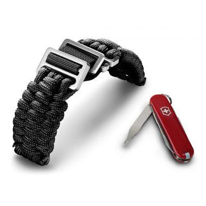 Victorinox 60022 I.N.O.X Paracord Armband Schwarz 7630000725448
