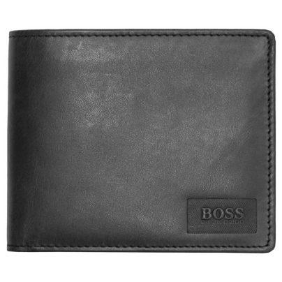 Boss Orange 50332397 Pulse Herren-Geldbeutel Anthrazit 4021419165896