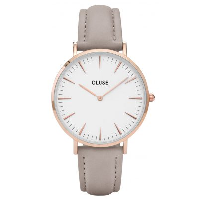 Cluse CLA001 Geschenkset La Bohème Damenuhr mit 2 Bändern 8718924594919