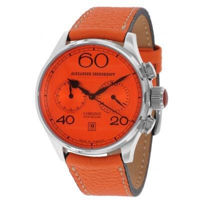 Alexander Shorokhoff AS.C01-1GCR Avantgarde Red Handaufzug Chronograph 4260479160506