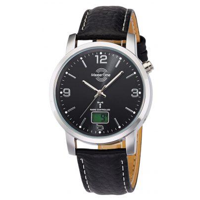 Master Time MTGA-10296-21L Herren-Funkuhr Basic Classic 4260091353881