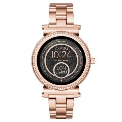 Michael Kors Access MKT5022 Damen-Smartwatch Sofie Pavé Roségoldfarben 4053858919174